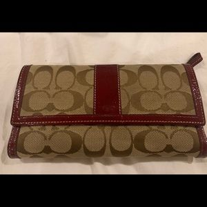 EUC Coach Wallet